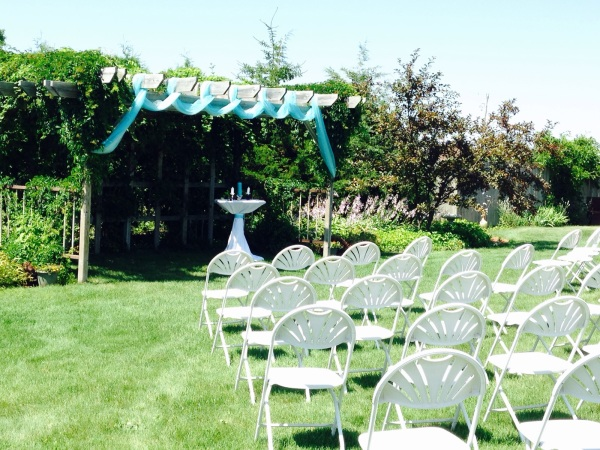 Outdoor Special Occasion Seating